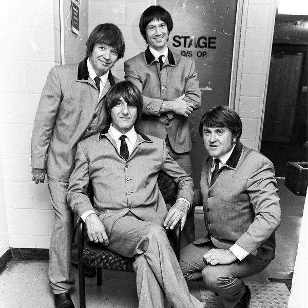 Australia's Beatle Magic Tribute members backstage