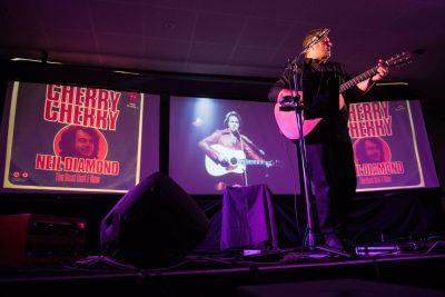Craig Stewart performs his Neil Diamond The Man The Music Show
