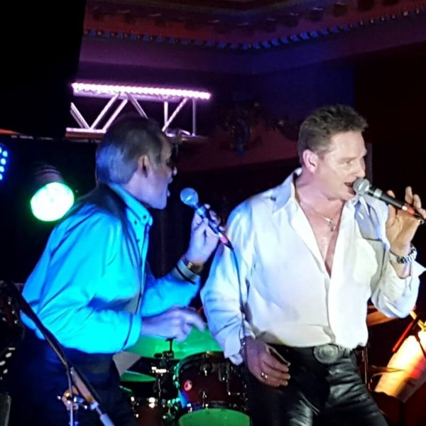 Jeff Fallon & Milko Foucault-Larche Live on stage with their tribute double act Tom Jones and Engelbert Humperdinck Together At Last