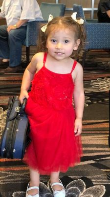 "Avalon, Vov Dylan's gorgeous daughter carries a violin case because "" thats what Daddy does"". All Things Entertainment"