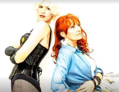 Susan Smith and Grace Fagnano from the Cyndi Madonna Show