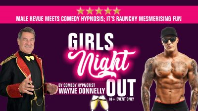 Girls Night Out Comedy Hypnosis